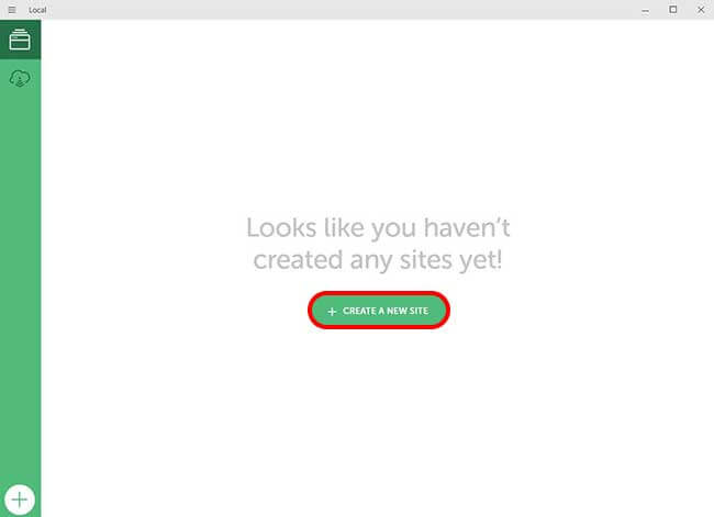 ローカル環境でのWordPressサイトの作成