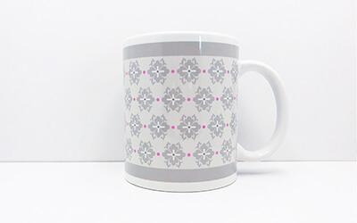和柄 花菱唐草 マグカップ