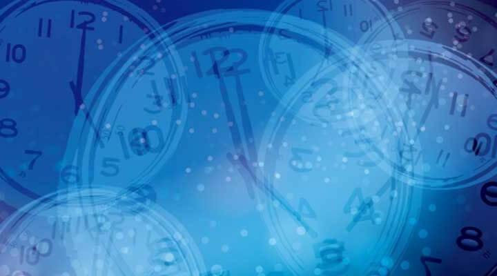 時間を奪う・奪われるイメージ