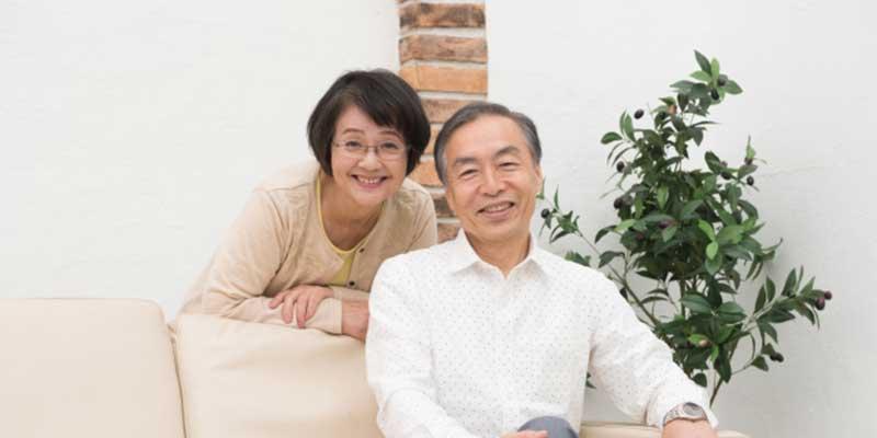 親孝行したい高齢の両親