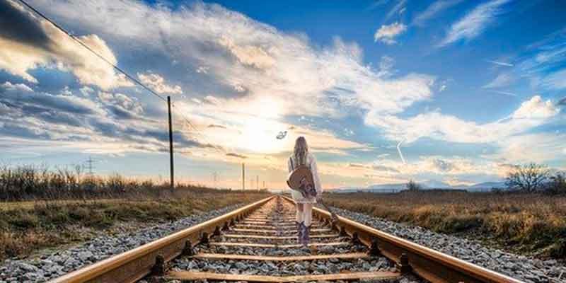 自分の道を歩む女性