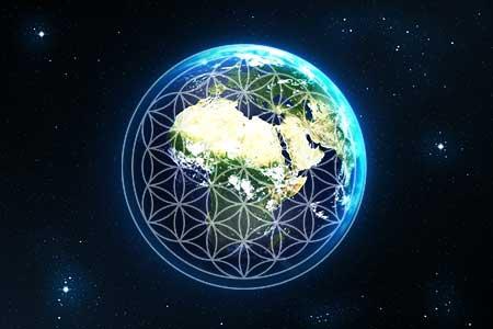 大調和した地球