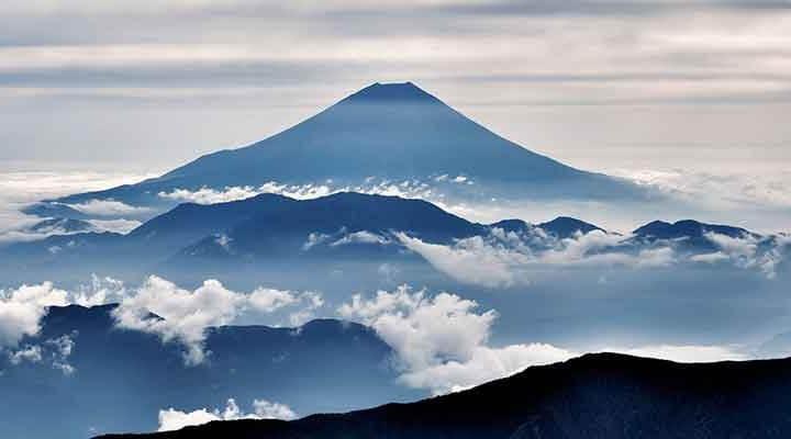 日本の象徴:富士山