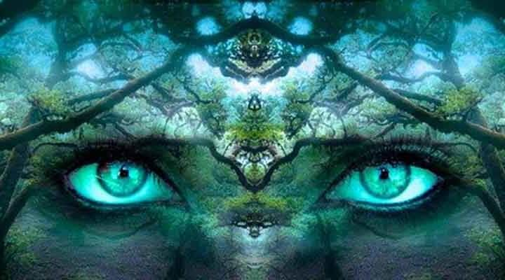 覚醒は、三つの目が目覚めること