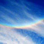 虹色現象は夜明けの合図 – 天岩戸が開き、調和の光が広がる